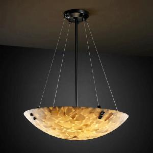 Porcelina - Eight Light Bowl Pendant