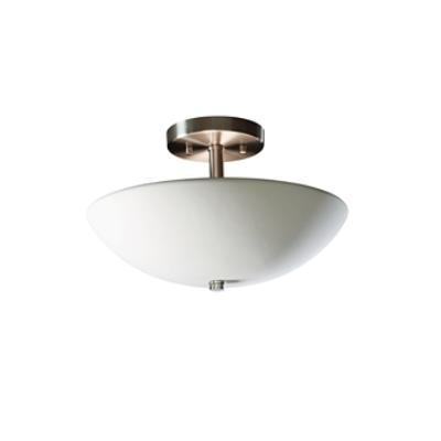 Justice Design 9690 Sun Dagger Round Bowl Semi-flush