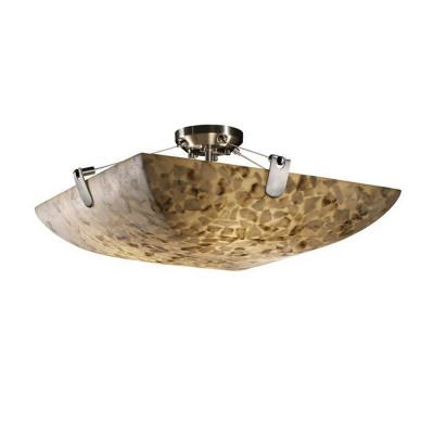 "Justice Design ALR-9614 36"" Semi-Flush Bowl"