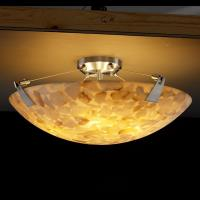 """18"""" Semi-Flush Bowl with Tapered Clips"""