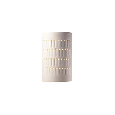 Justice Design 2285 Small Cactus Cylinder Open Top and Bottom Sconce