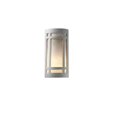 Justice Design 7497W Really Big Craftsman Open Top and Bottom Outdoor Sconce