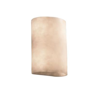 Justice Design CLD-8858 ADA Large Cylinder Wall Sconce