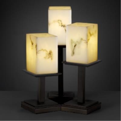 Justice Design FAL-8697 Montana - Three Light Table Lamp
