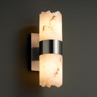 Justice Design FAL-8762 Dakota 2-Up/Down Light Wall Sconce