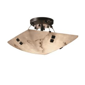 Justice Design FAL-9650 LumenAria - Two Light Bowl Pendant