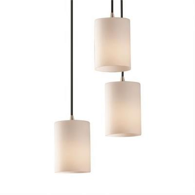 Justice Design FSN-8818 3-Light Cluster Pendant