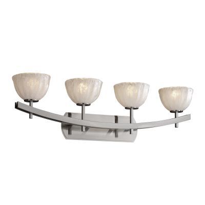 Justice Design GLA-8594 Archway Four Light Bath Bar