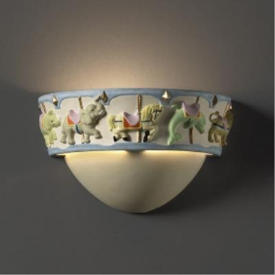 Justice Design KID-3360 Carousel Wall Sconce
