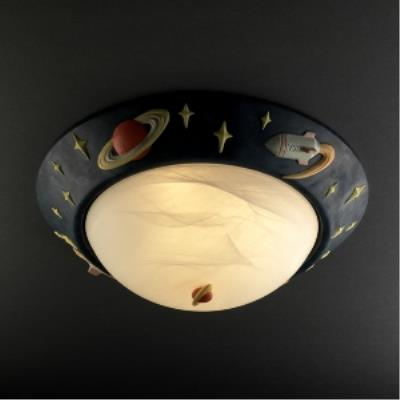 Justice Design KID-6188 Kid's Room - Three Light Flush Mount