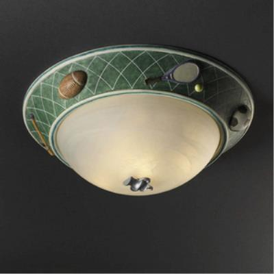Justice Design KID-6194 Kid's Room - Three Light Flush Mount