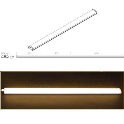 Justice Design LR-Lightrail LED Undercabinet Lightrail