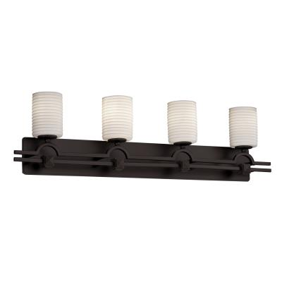 Justice Design POR-8504 Argyle Four Light Bath Bar