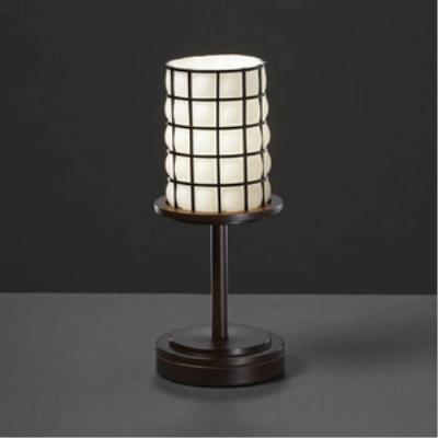 Justice Design WGL-8798 Dakota One Light Table Lamp (Short)