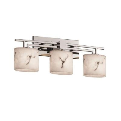 "Justice Design FAL-8703 LumenAria - 26"" Three Light Bath Bar"