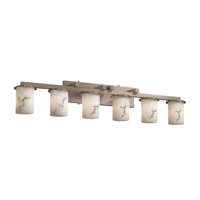 Justice Design FAL-8786 LumenAria - Six Light Bath Bar