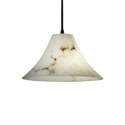 Justice Design FAL-8860 Wide Round Flared Pendant