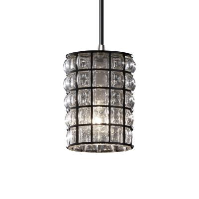 Justice Design WGL-8815 Mini One Light Pendant