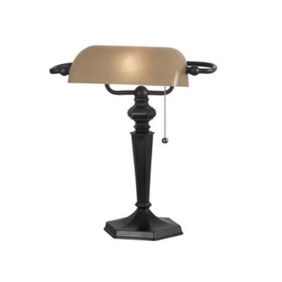 Kenroy Lighting 20610ORB Chesapeake Banker Lamp