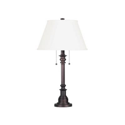 Kenroy Lighting 30437BRZ Spyglass Table Lamp
