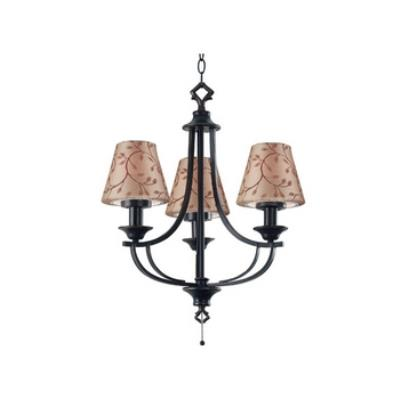 Kenroy Lighting 31367ORB Belmont Outdoor Chandelier