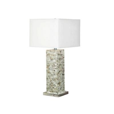 Kenroy Lighting 32025MOP Pearl - One Light Table Lamp