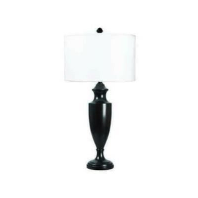 Kenroy Lighting 32116MBR Lathe - One Light Table Lamp