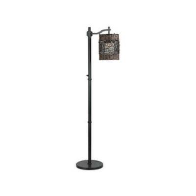 Kenroy Lighting 32144ORB Brent - One Light Outdoor Floor Lamp