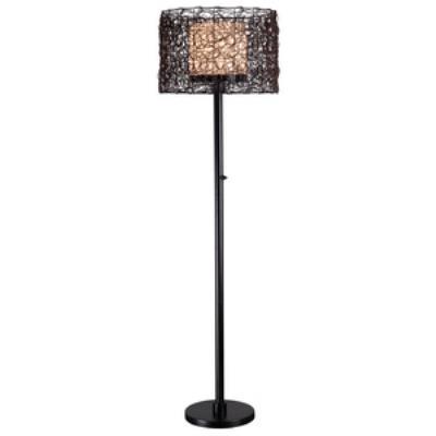 Kenroy Lighting 32220BRZ Tanglewood - One Light Outdoor Floor Lamp