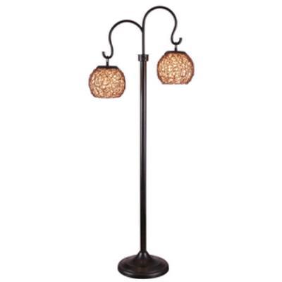 Kenroy Lighting 32246BRZ Castillo - Two Light Outdoor Floor Lamp