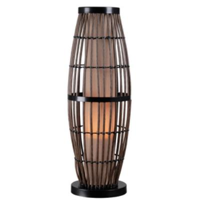 Kenroy Lighting 32247RAT Biscayne - One Light Outdoor Table Lamp