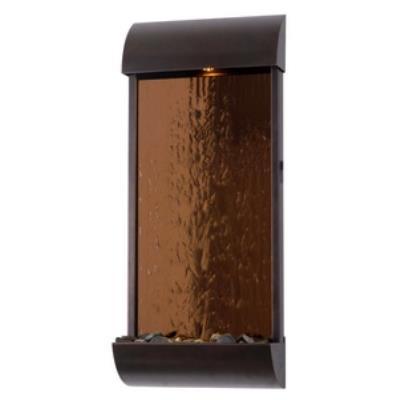 "Kenroy Lighting 50048BRZ Aspen - 32"" Wall Fountain"
