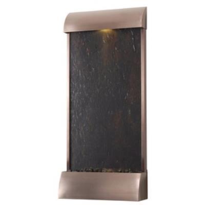 "Kenroy Lighting 50051COP Cascade - 42"" Floor/Wall Fountain"