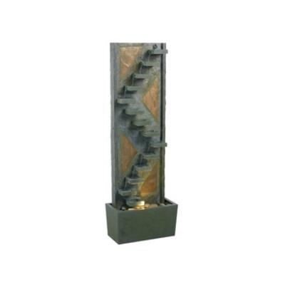Kenroy Lighting 53205SLCP Traverse Floor Fountain