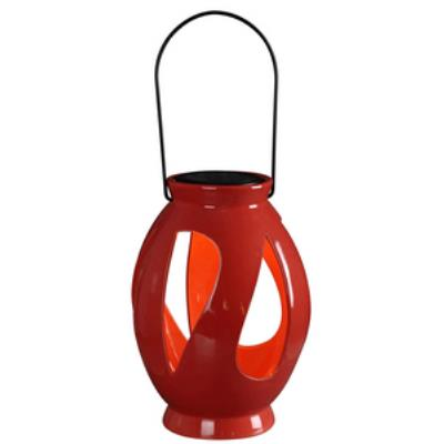 Kenroy Lighting 60525RED Leaves - LED Solar Lantern