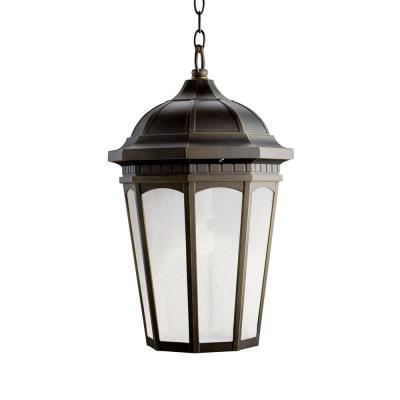 Kichler Lighting 11016RZ Courtyard - One Light Outdoor Pendant