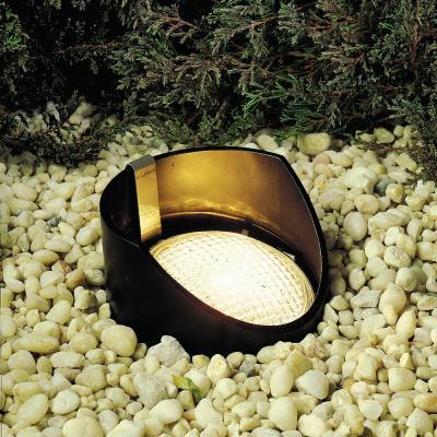 Kichler Lighting 15088BK Low Voltage One Light In Ground Lamp