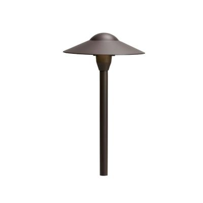 Kichler Lighting 15410AZT Low Voltage Landscape Path and Spread Light