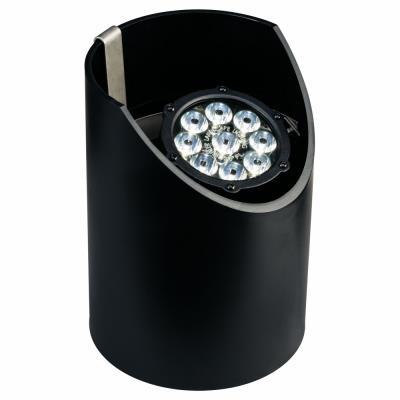 Kichler Lighting 15758BKT Low Voltage Nine Light Led In-Ground Wide Fixture