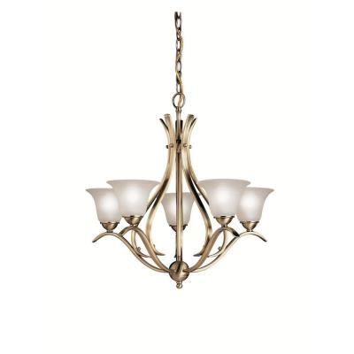 Kichler Lighting 2020AB Dover - Five Light Chandelier