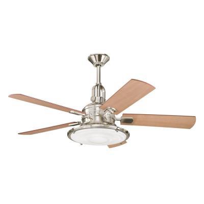 """Kichler Lighting 300020PN Kittery Point - 52"""" Ceiling Fan"""