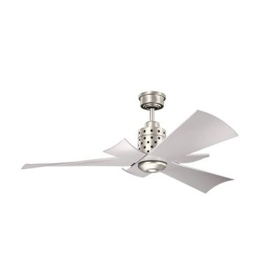 "Kichler Lighting 300163NI Frey - 56"" Ceiling Fan"