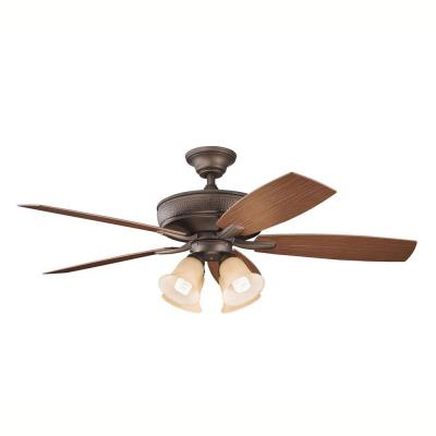 "Kichler Lighting 310103 Monarch II Patio - 52"" Ceiling Fan"