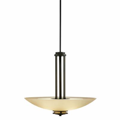 Kichler Lighting 3275OZ Hendrik - Three Light Inverted Pendant