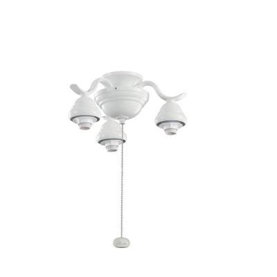 Kichler Lighting 350101WH Accessory - Three Light Decorative Fitter
