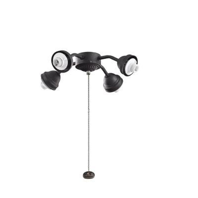 Kichler Lighting 350102DBK Accessory - Four Light Bent Arm Fitter