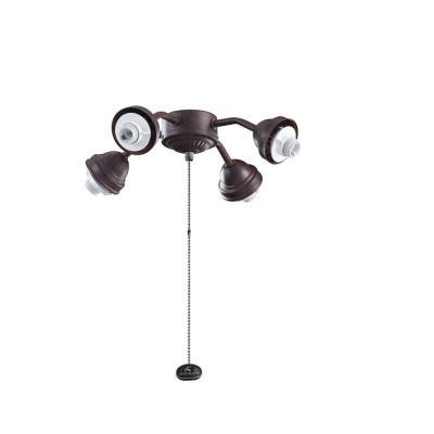 Kichler Lighting 350102TZ Accessory - Four Light Bent Arm Fitter