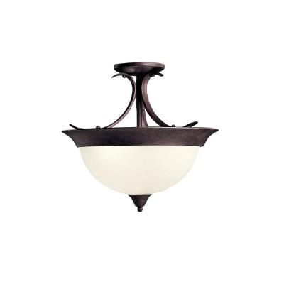 Kichler Lighting 3623TZ Dover - Three Light Semi-Flush Mount