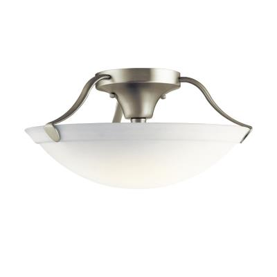 Kichler Lighting 3627NI Three Light Semi-Flush Mount