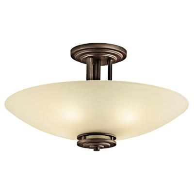Kichler Lighting 3677OZ Hendrik - Four Light Semi-Flush Mount